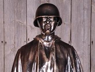 The Korean War figure is sponsored by Rita Eversoll.